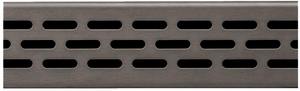 Compotite 36 inch Oval Design Oil Rubbed Bronze Linear Drain Grate