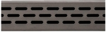 Compotite 48 inch Oval Design Oil Rubbed Bronze Linear Drain Grate