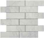 Casa Bianca 2x6 Honed Square Edge Marble