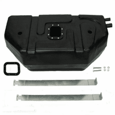 0065 MTS 20 Gallon Plastic Gas Tank for 1987-1995 Jeep Wrangler YJ, with fuel bowl
