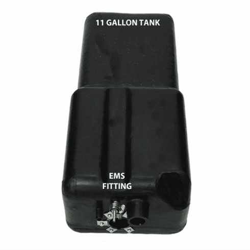 4240 MTS 11 Gallon Plastic Gas Tank for 1971-1976 Bronco with EMS