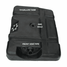 4250 MTS 19 Gallon Plastic Rear Gas Tank for 1973-1979 Ford F100, F150, F250 with EMS Hole
