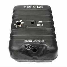 4251A MTS 33 Gallon Plastic Gas Tank with EMS hole for 1978-1979 Ford Bronco Full Size