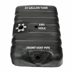 4251B MTS 25 Gallon Plastic Gas Tank with EMS hole for 1978-1979 Ford Bronco Full Size