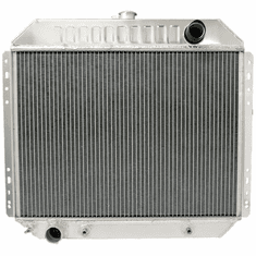 433AA2R Aluminum Radiator for 1966-1979 Ford F100, F150, F250, F350, 1978-1979 Bronco V8 Engines, 2 Row