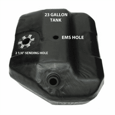 4500 MTS 23 Gallon Plastic Gas Tank for 1984 Ford Bronco II