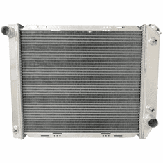 """557AA2R Aluminum Radiator for 1980-1984 Ford Bronco, F100, F150, F250, F350, L6-4.9L Engine, 2 Row, Core Height 21-1/2"""""""