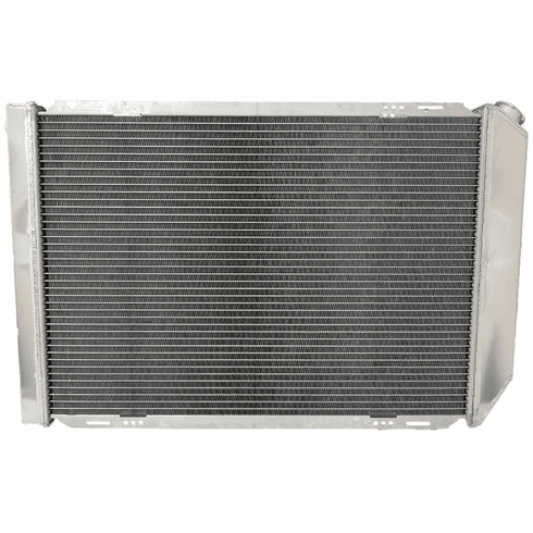 561AA3R Aluminum Radiator for 1980-1984 Ford Bronco, F100, F150, F250, F350, V8 5.0L, 5.8L, 6.6L Engines, 3 Row, Core Height 27-1/2""