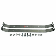 CJGTSE-1 MTS Gas Tank Skid Plate End Straps for Plastic Tank, 1972-1990 Jeep CJ and Jeep Wrangler YJ