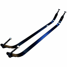 IST5029 Gas Tank Upper Straps for 1999-10 Ford Econoline Van, Cutaway Rear Tank 35-37 Gallons