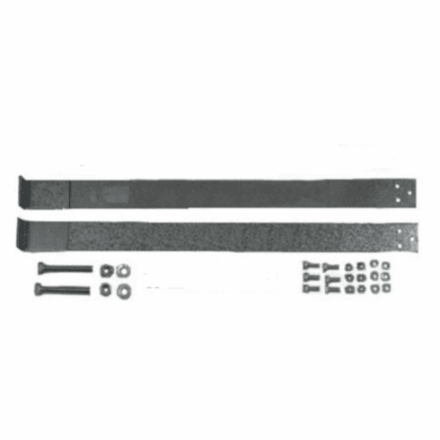 GMGTS-1 MTS Plastic Gas Tank Straps for 1973-1987 Chevy, GMC Full-Size Pickup 16 or 20 Gallon Gas Tank with bolts.