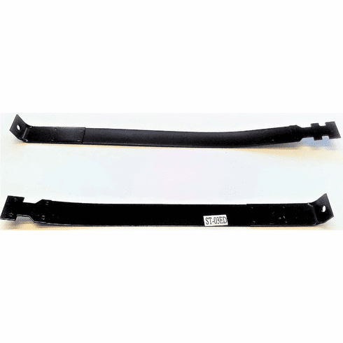 IST03 Gas Tank Straps for 1980-1997 Ford Truck F100, F150, F250, F350, 19 Gallon Front Tank