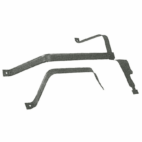 "IST137 Gas Tank Straps for 1993-1994 Ford Ranger Regular Cab, w/ 108"" Wheel Base, w/ 17 Gallon Plastic Tank"