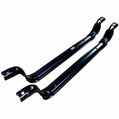 IST5030 Gas Tank Lower Straps for 1999-10 Ford Econoline Van, Cutaway Rear Tank 35-37 Gallons