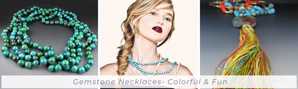 Shop Gemstone Necklaces