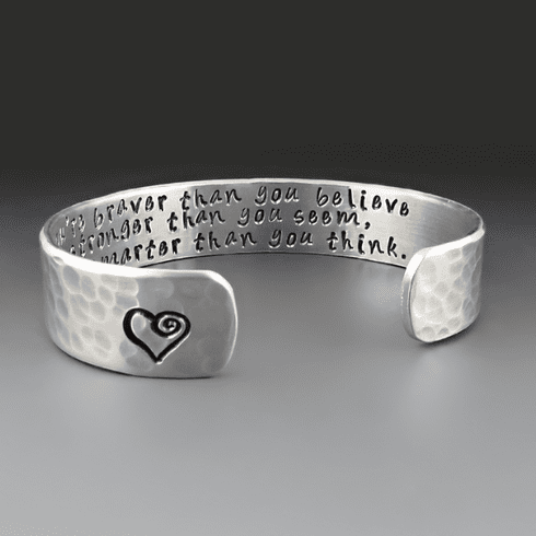 Braver Than You Believe Bracelet