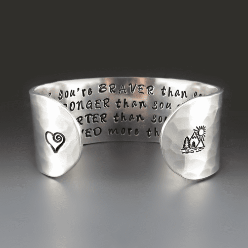Christopher Robin | Winnie The Pooh Quote Bracelet
