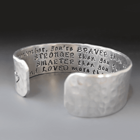 Christopher Robin / Winnie The Pooh<br> Quote Bracelet