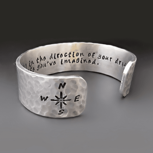 Go Confidently - Direction Of Your Dreams Bracelet