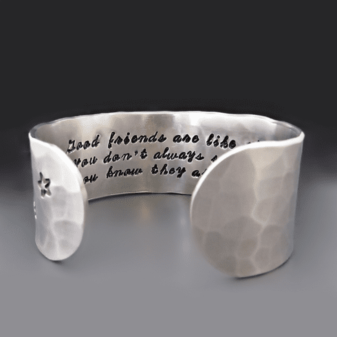 Good Friends Are Like Stars Bracelet