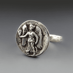 Guardian Angel Coin Ring