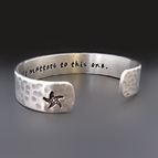 It Matters To This One Silver Starfish Bracelet