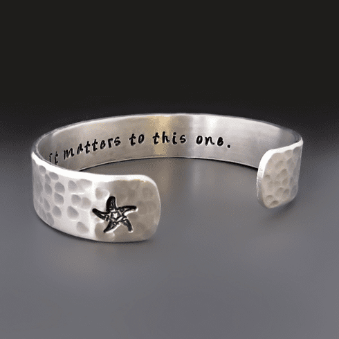 It Matters To This One Starfish Bracelet
