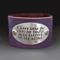 Leather Bracelets Inspirational Quotes