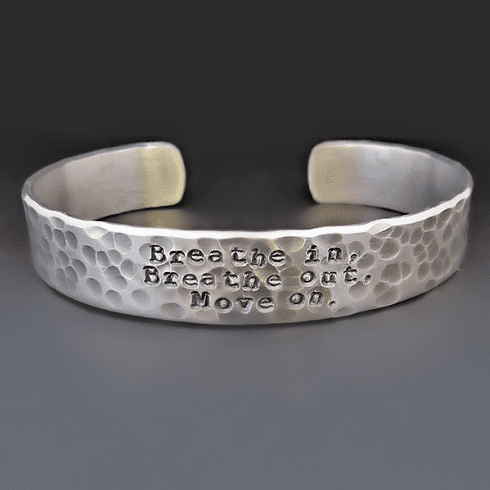 Men's Jimmy Buffett Bracelet <br>{Breathe In, Breathe Out, Move On}
