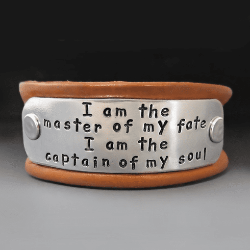 Men's Personalized Leather <br>Buckle Bracelet