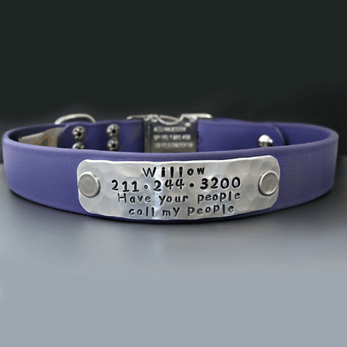 Personalized Waterproof Outdoor Dog Collar