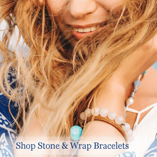 Gemstone & Wrap Bracelets
