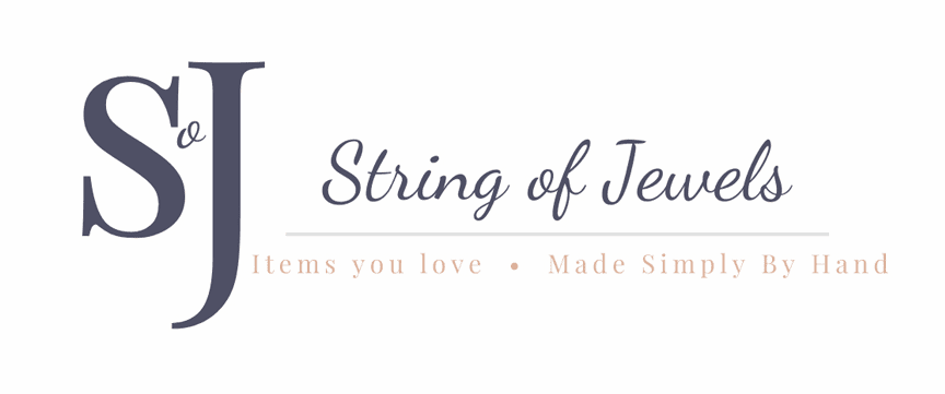 Personalized Inspirational Jewelry | String of Jewels