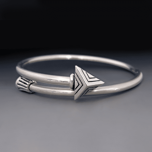 Sterling Silver Arrow Bracelet