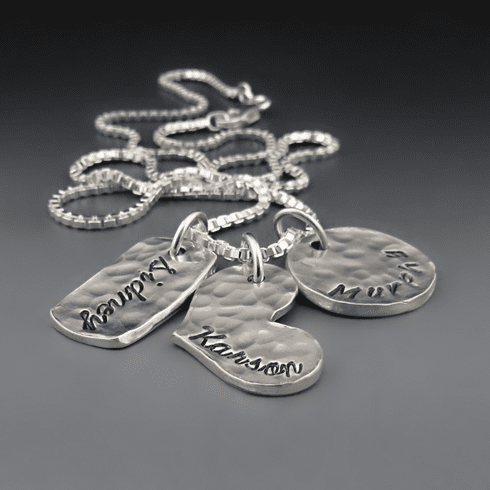 Family Portriat Necklace