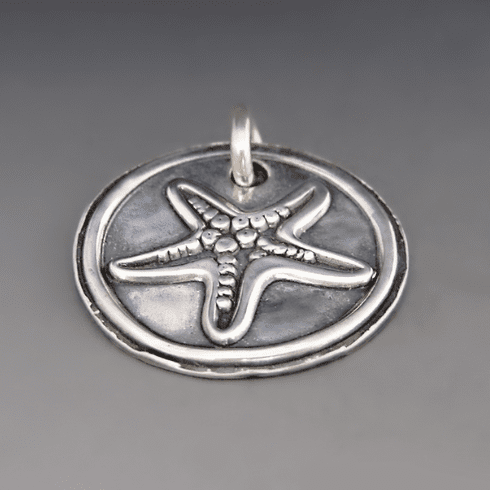 Sterling Silver Starfish Charm {Hope/Inspiration}