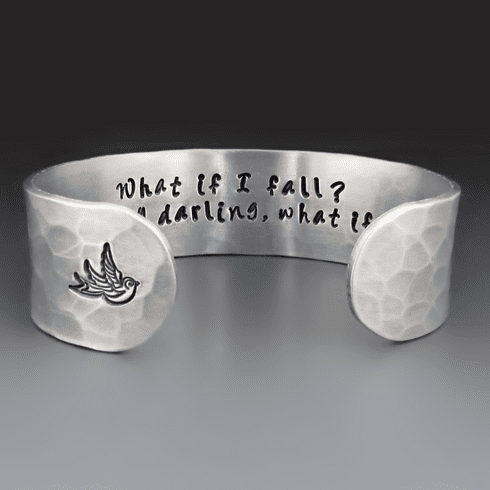 What If I Fall,What If You Fly? Bracelet