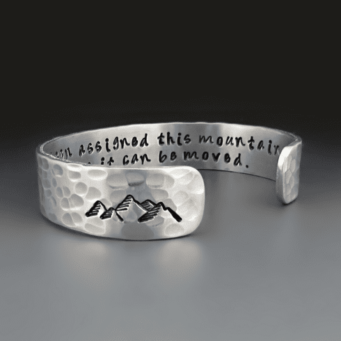 You Can Move This Mountain Bracelet