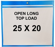 (#85500L) 25x20 Sewn Shop Ticket Holders (25 Pack)