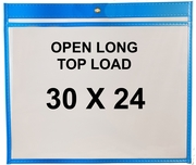 (#85750L) 30x24 Sewn Shop Ticket Holders (25 Pack)