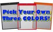 (#85726S-A3) 9x12 Open Short Color Assortment (15 Pack)