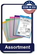 9 x 12 Color Assortment Packs