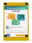 CDC Front Door Poster for Businesses