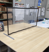 TABLE TOP CLEAR VINYL PANELS