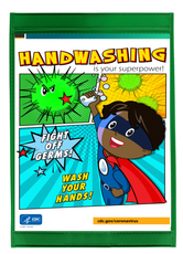 CDC Poster K12 Hand Washing Poster