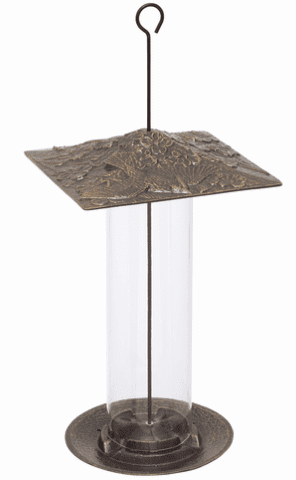 12 inches Cardinal Tube Feeder - French Bronze