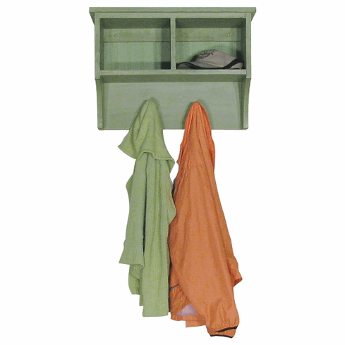 2 Foot Cubby Shelf - Cottage Style Cubby