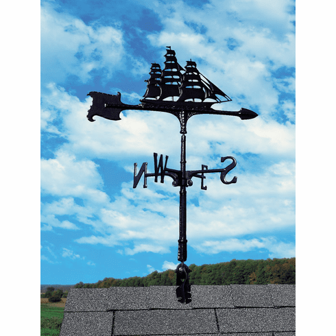 "30"" Clipper  Weathervane - Nautical Decor"