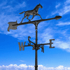 30 inches Horse Accent Weathervane - Black