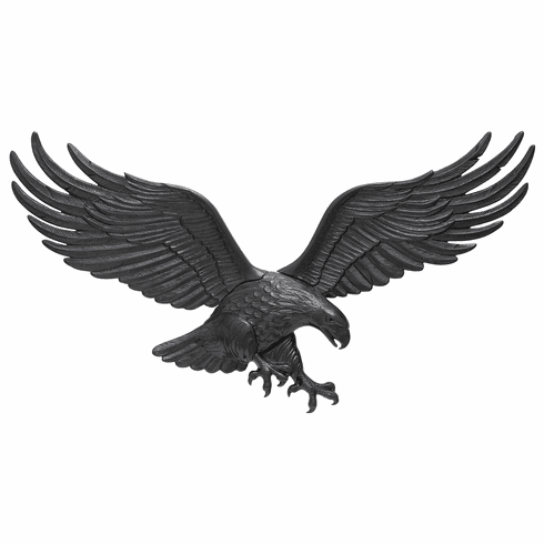 36 inches Wall Eagle - Black